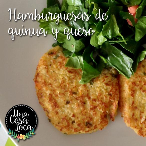 hamburguesas de quinua